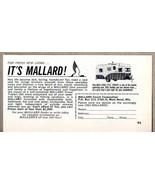 1963 Print Ad Mallard 17 1/2' Drake Travel Trailers West Bend,WI - $9.78