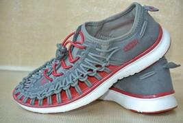 Keen Uneek Waterproof Womens Sz 5 Gray Red Hiking Trail Water Sandals NI... - $26.72