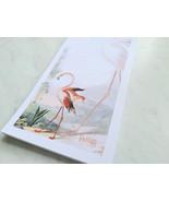 Flamingo Antique Illustration Magnetic Notepad, 50 Sheets - $5.99
