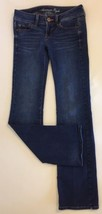 American Eagle Jeans 2 Boot Cut Denim Slim Medium Wash Stretch Women's - $22.99