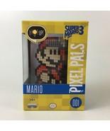 PDP Pixel Pals Super Mario 3 8 Bit Mario 001 Light Up Display Figure NIB - $15.88
