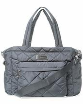 Marc by Marc Jacobs Crosby Nylon Quilted Diaper Bag (Dark Grey) - $292.04