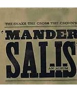 Mander Salis by The Snake the Cross the Crown (CD, Aug-2004, NEW) - $5.10