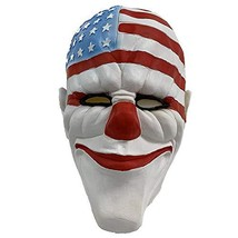 Payday2 Cosplay Latex Mask Halloween Costumes Dallas mask - £13.06 GBP