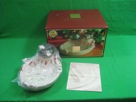 Lenox Occasions Snowman Treat Dish NIB - $21.46