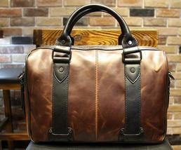 Men's Fashion leather bag briefcase handbag Messenger Bag laptop bag gif... - $59.99+
