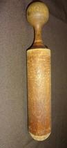 """Vintage  Primitive Carved Wood Neat Old Wooden Pestle 10.5"""" - $17.94"""
