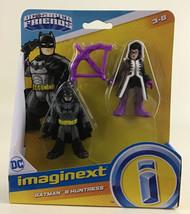 Imaginext DC Super Friends Batman & Huntress Action Figures 2019 Mattel ... - $29.65