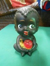 Outstanding BLACK BOY Bobble Head and Coin Bank.............SALE - $74.25