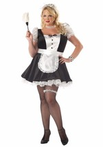 California Costumes Women's PLUS Fiona, The French Maid Sexy Naughty Dre... - $28.95