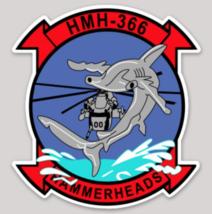 USMC HMH-366 Hammerheads Sticker - $9.89