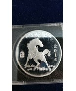 2014 1 oz Silver Round - Year Of The Horse - $42.00