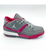 Jordan Flight 23 GP Cool Grey White Fuchsia Kids Size 1.5 Sneakers 76891... - $49.95