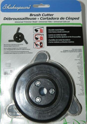 Shakespeare Brush Cutter Universal Trimmer Head Durable Metal Blades Pkg 1