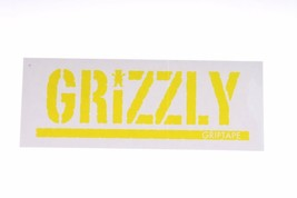 Grizzly Griptape Stamp Logo Neon Sticker