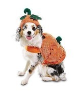 "Bootique Dog Pet Costume Pumpkin Hat M Medium New 15-17"" Halloween 2687301 - £11.55 GBP"