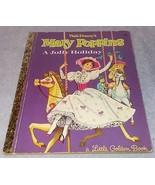 Walt Disney's Mary Poppins A Jolly Holiday Little Golden Book D112 Nice One - $7.95