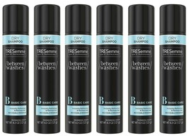 6 Pack of TRESemmé Dry SHAMPOO For Brittle Dry Hair 4.3oz each No Residue/Water image 1