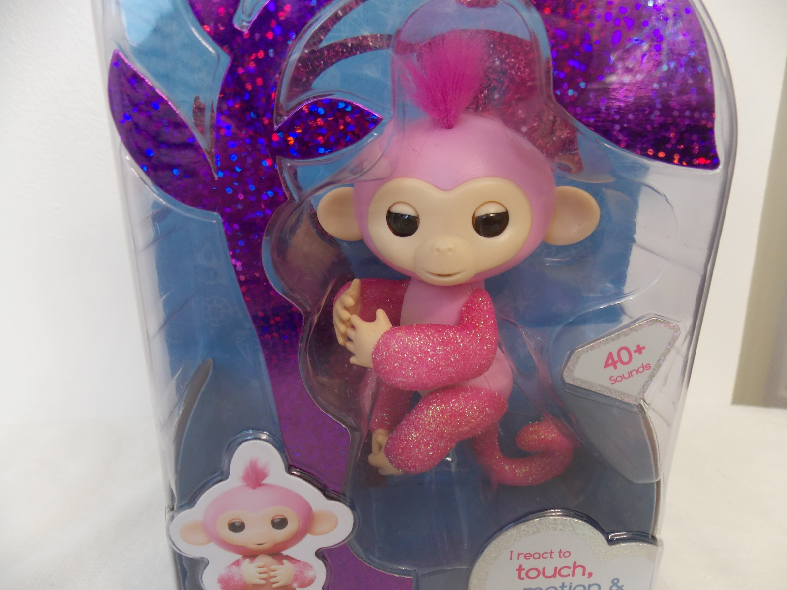 Fingerlings Glitter Rose Interactive Monkey image 2