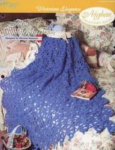 Blue Paddlewheel Victorian Afghan Tns Crochet PATTERN/INSTRUCTIONS New - $0.89