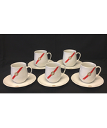 Vintage 1960s Rosenthal TWA Airlines 1st Class Royal Ambassador cups & s... - $50.00