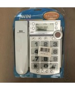 jWIN JTP590WHT Corded Speaker Phone with Caller ID (White) - $25.00
