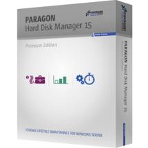 Paragon Hard Disk Manager 15 Premium | Digital Software Key - FAST DELIV... - $2.99