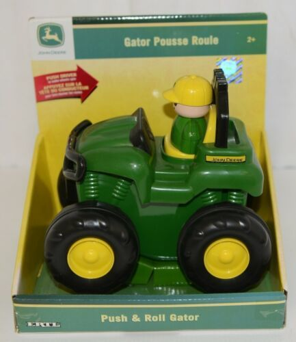 John Deere TBEK37747 Push And Roll Gator Ages 2 Up Spinning Wheels