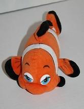 """Fiesta CLOWN FISH 9"""" Dolly Orange Plush Stuffed Animal Blue Eye Soft Toy... - $14.48"""
