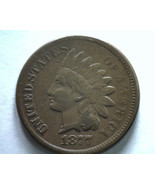 1877 INDIAN CENT PENNY FINE / VERY FINE F/VF NICE ORIGINAL COIN FROM BOB... - $1,150.00