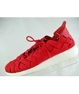 Nike Rosherun Woven Athletic Shoes Red Size 6 555257-600 - $39.55