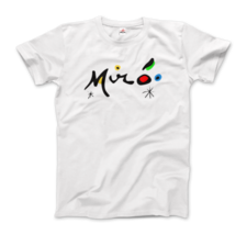 Joan Miro Colorful Signature Artwork T-Shirt - $19.75+