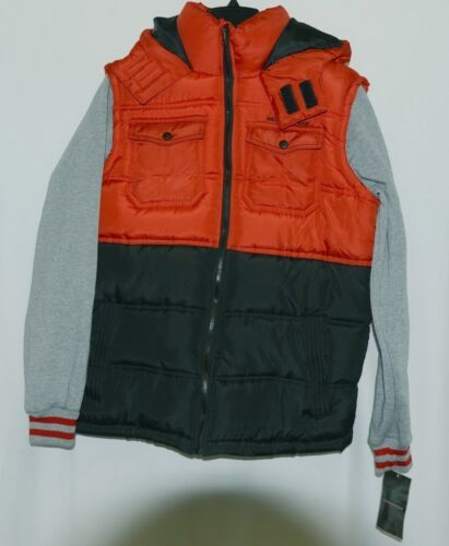 Weatherproof OBZCE0P Jacket with Built in Vest Color Red Size XL Childs