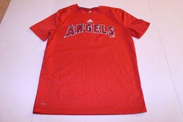 Youth Los Angeles Angels of Anaheim L (14/16) Athletic Tee Adidas ClimaLite - $12.19