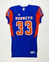 Russell Athletics Hornets Game Football Jersey Men's M L XL 2XL Blue Orange - $14.84+