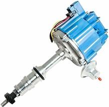 FORD FE 332 352 360 390 406 427 428 BLUE HEI Distributor + 8mm SPARK PLUG WIRES image 2