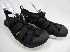Keen Newport EVO Waterproof Sandals Men's Size US 9 M EU 42 Black /Star White - $71.26