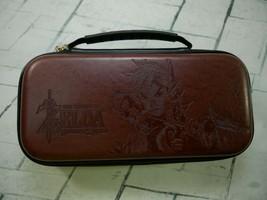 Legend Of Zelda Breath Of The Wild Nintendo Switch Brown Carrying Case - $12.59