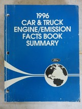 1996 Ford Car Truck Engine Emissions Fact Book OEM Factory Workshop Deal... - $4.89