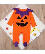 Halloween Printed Long Sleeve Infant Jumpsuit - $26.80
