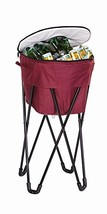 Picnic Plus 72 Can Insulated, Leakproof Tub Cooler with Stand and Travel... - £52.27 GBP