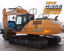 2015 CASE CX210D For Sale in Regina, Saskatchewan S4N 5W4 image 4