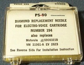 367-DS73 STEREO RECORD NEEDLE for Motorola ELECTRO-VOICE EV 194  EV 2623DS image 2