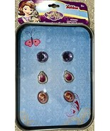Disney Junior Sofia The First 3 Pairs of Earrings For Baby Girls(+ 3 years) - $3.49