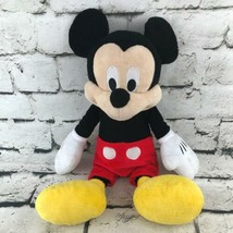"Disney Mickey Mouse Plush Classic Outfit Cartoon Collectors Stuffed Animal 16"" - $16.82"