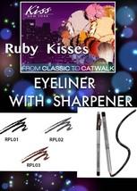 RUBY KISSES EYELINER WITH SHARPENER RPL01-RPL03 SELECT DESIRED COLOR - $1.00