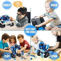 Mould King 2 in 1 Building Block Robot Policemen Toy with Remote Control Robot E image 4