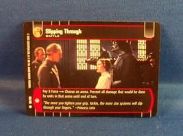 Star Wars Trading Card Game 155/180 Slipping Through - $1.31
