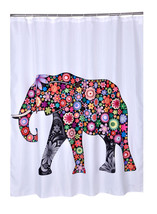 Bathroom Products Curtain modern Showers Polyester Elephant Waterproof 7... - $47.99