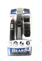 Wahl Nose Ear Body Beard Hair Wet/Dry Battery Precision Blade Trimmer Se... - $27.71
